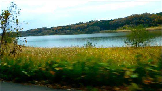 福井から石川へ向かう途中に通った湖