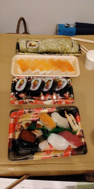 誕生日祝い福井の寿司