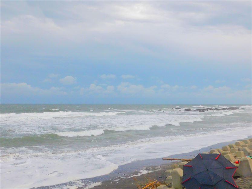 大洗海岸南側