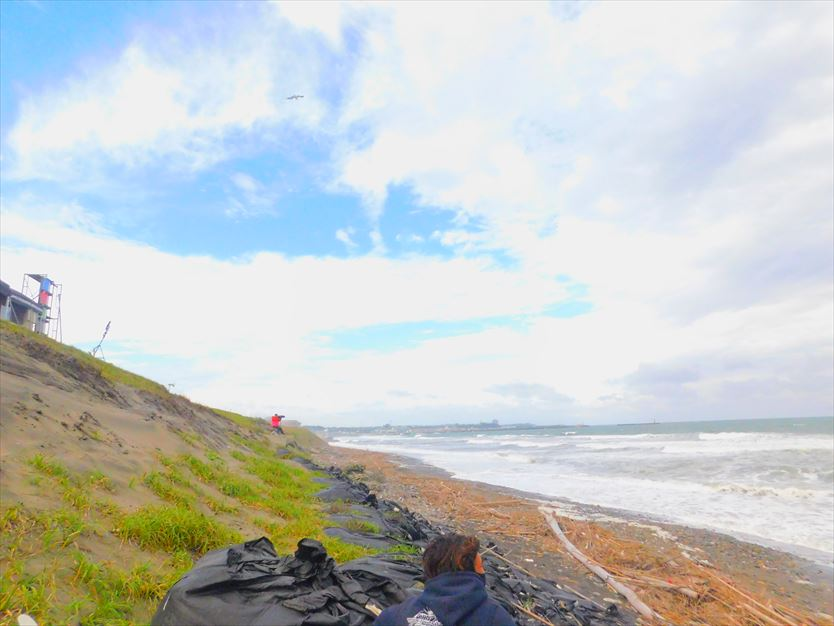 会場の大洗海岸
