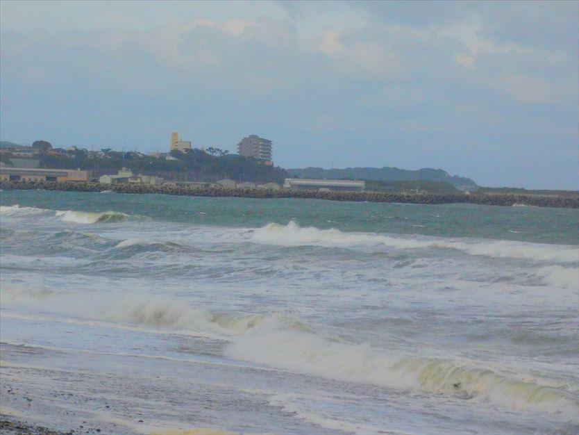 大洗海岸北側